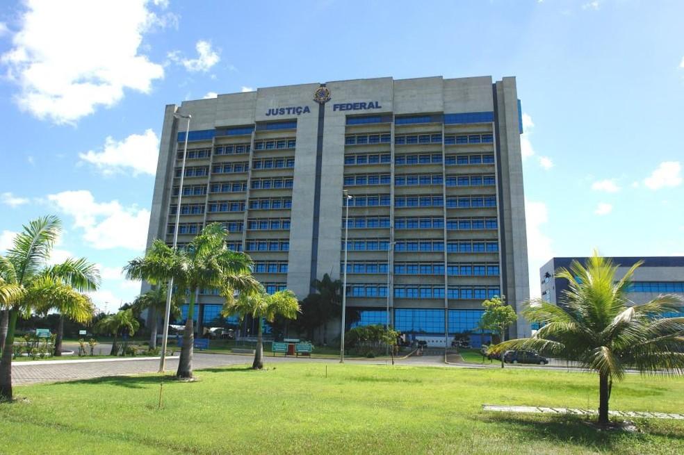Justiça Federal em Pernambuco — Foto: Ascom JFPE