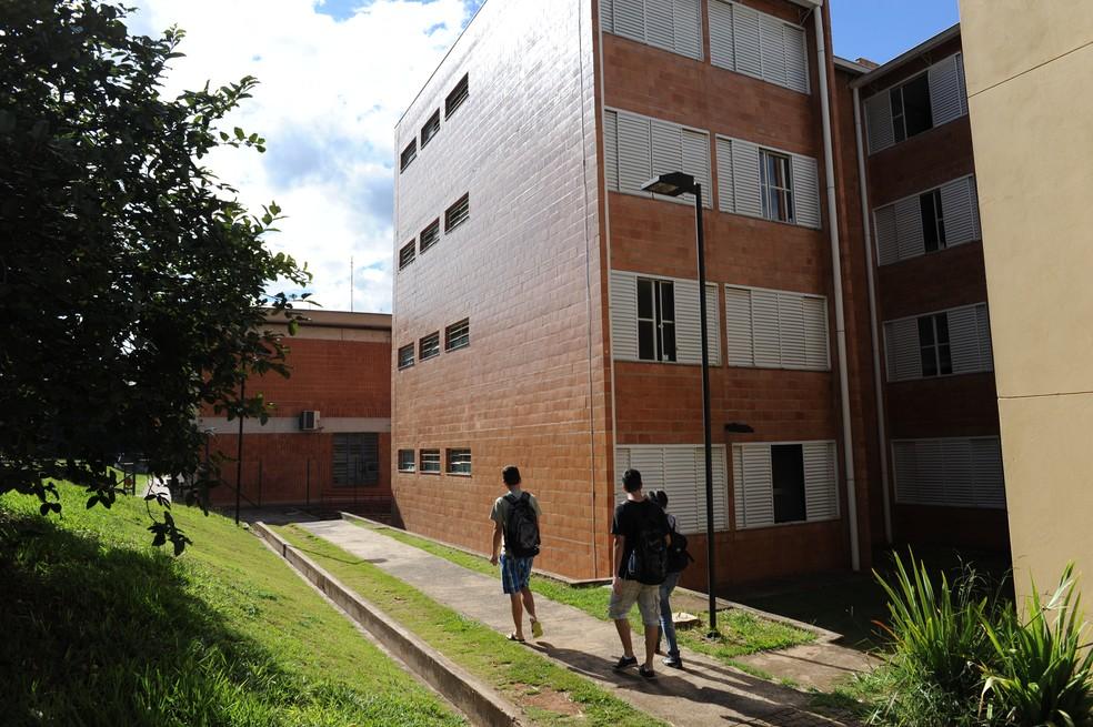 Moradia estudantil da UFSCar — Foto: Cain Rodrigues/CCS UFSCar