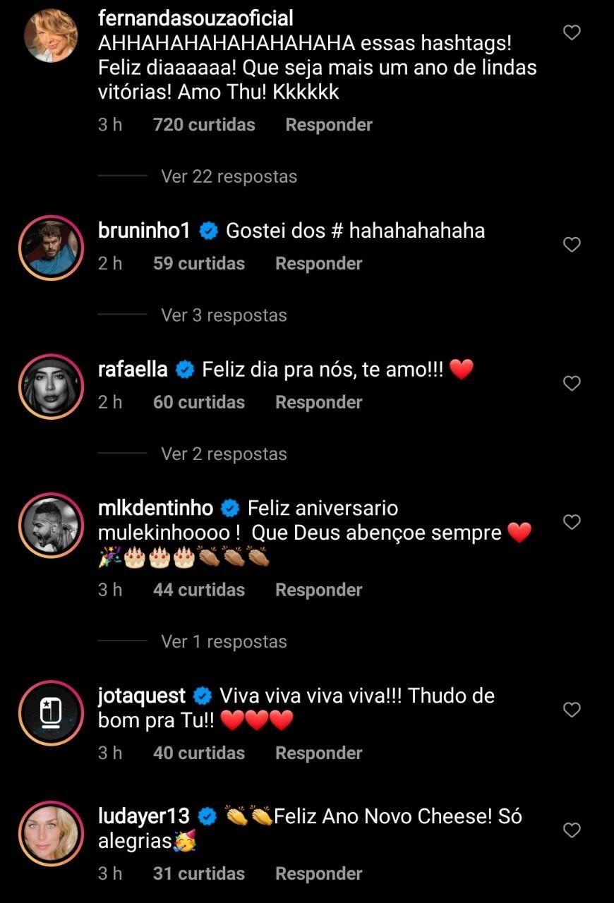 Thiaguinho ganha parabéns pelo aniversário (Foto: Reprodução/Instagram)