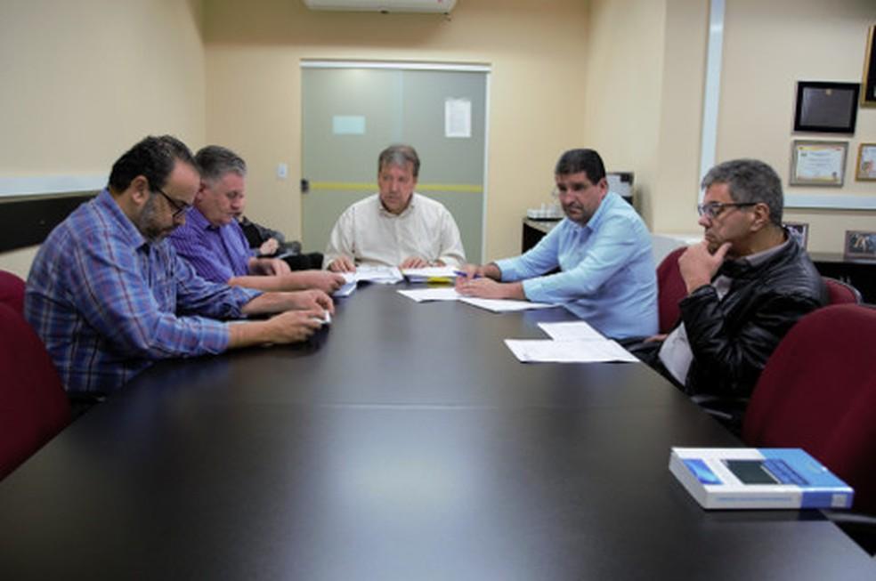 Comissão Processante criada na Câmara de Limeira para apurar ato do vereador Clayton Silva — Foto: Divulgação/ Câmara de Limeira