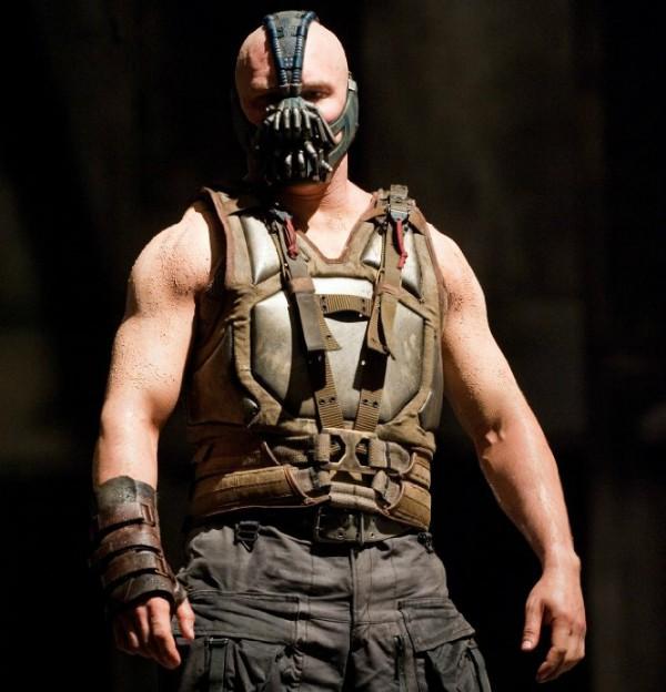 Tom Hardy em Batman: O Cavaleiro das Trevas Ressurge (Foto: Divulgação)