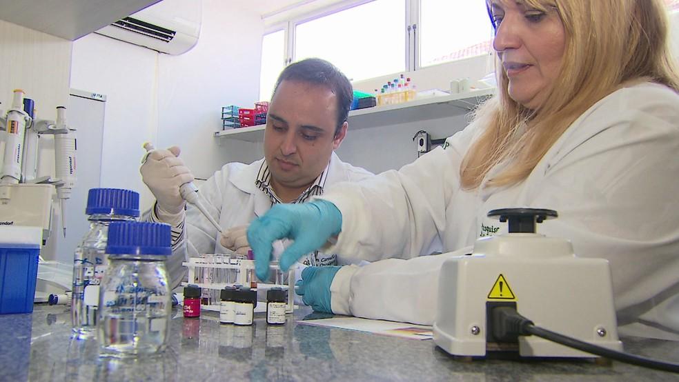 Pesquisadores do Recife desenvolveram pesquisa que pode melhorar tratamento contra o câncer de estômago (Foto: Reprodução/TV Globo)