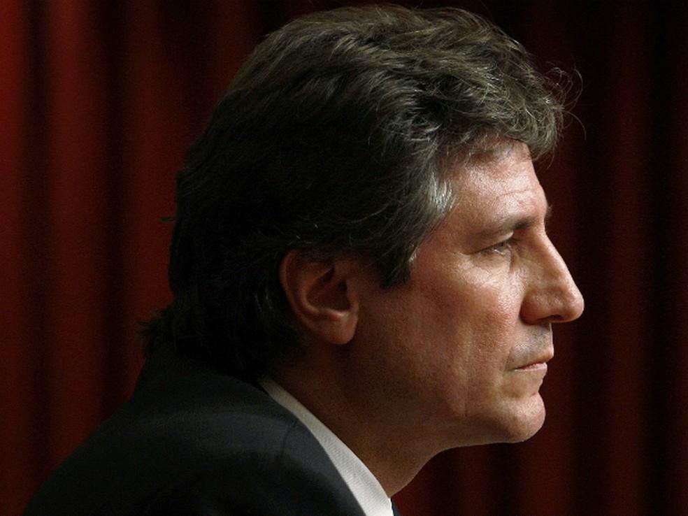 -  Ex-vice-presidente da Argentina, Amado Boudou, em imagem de arquivo  Foto: Marcos Brindicci/Reuters