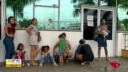 Pediatria de PA em Alto Lage passa a noite fechada, em Cariacica, ES