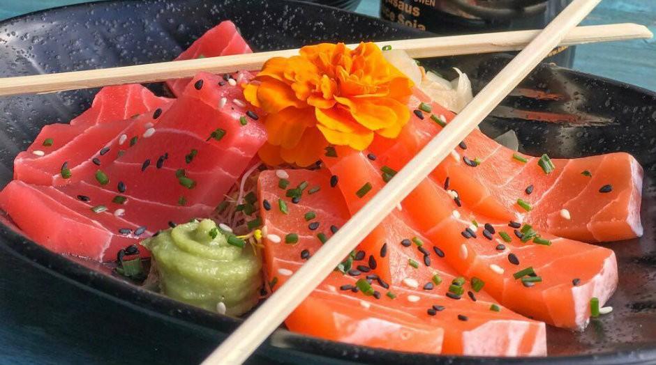 Sashimi vegano faz sucesso na Holanda (Foto: Divulgação)