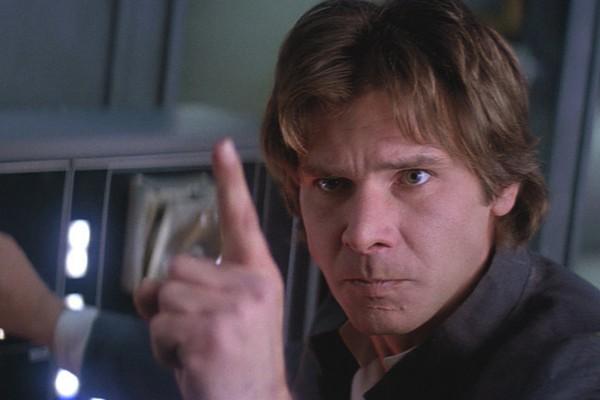 Harrison Ford como Han Solo (Foto: Reprodução)