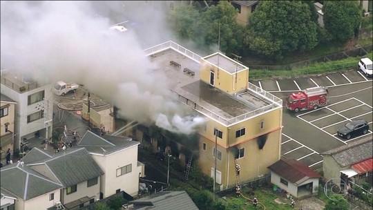Incêndio criminoso em estúdio de animação deixa 33 mortos no Japão