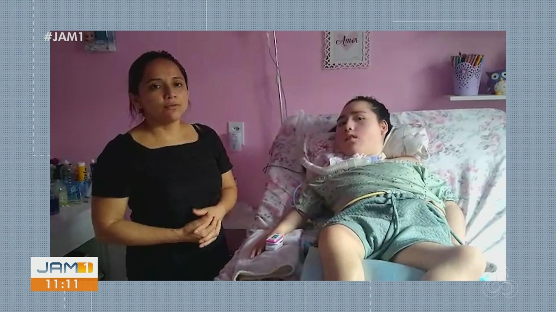 VÍDEOS: Mães de pacientes crônicos de Manaus pedem ajuda de oxigênio; veja destaques do JAM 1
