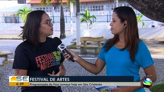 Festival de Artes de São Cristóvão começa nesta quinta-feira