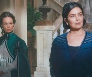 Nos capítulos desta semana, Teresa e Luísa formarão uma aliança por um desejo comum: aproximar Leopoldina de Augusto. Tudo começará na segunda (25), quando o príncipe se recusar a casar com a moça | TV Globo