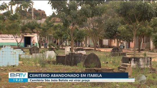 Prefeitura de Itabela, na Bahia, anuncia transferência de ossadas de cemitério desativado há 19 anos para construção de praça