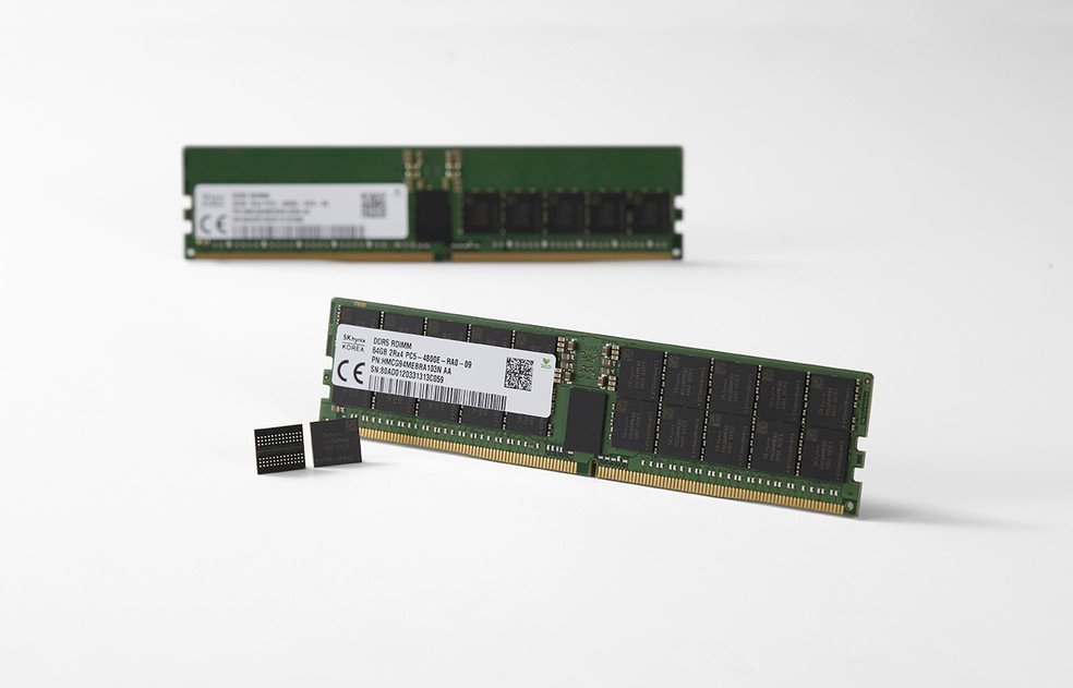 Definition of final technical specifications and launch of new processors should start the process of adopting DDR5 — Photo: Disclosure/SKHynix