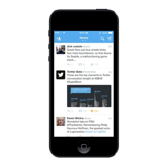 Twitter lança novidade em seu app de dispositivos móveis (Foto: Reprodução/Twitter Mobile)