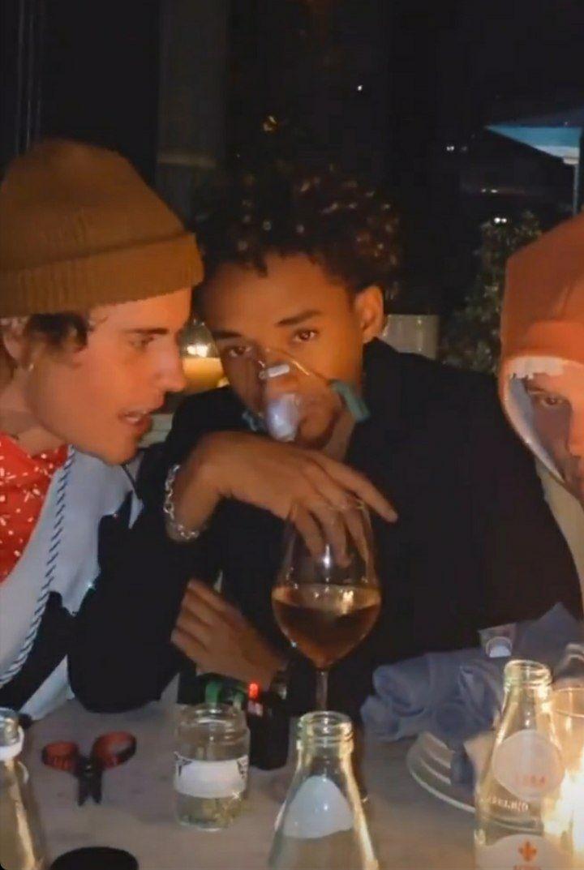 Justin Bieber e Jaden Smith (Foto: Reprodução / Instagram)