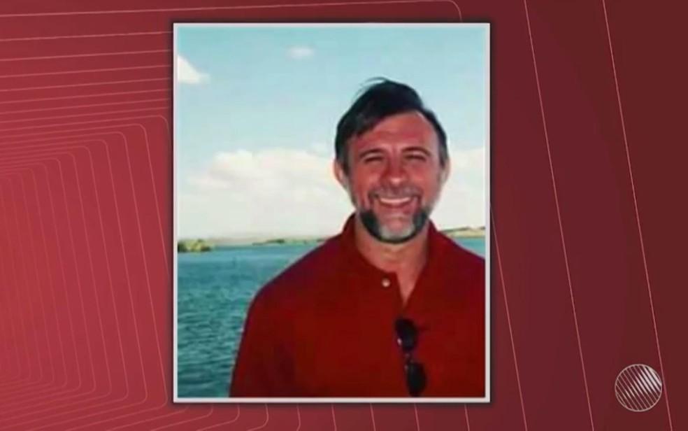Comerciante João Batista da Silva foi morto a tiros no dia 25 de novembro (Foto: Reprodução/ TV Bahia)