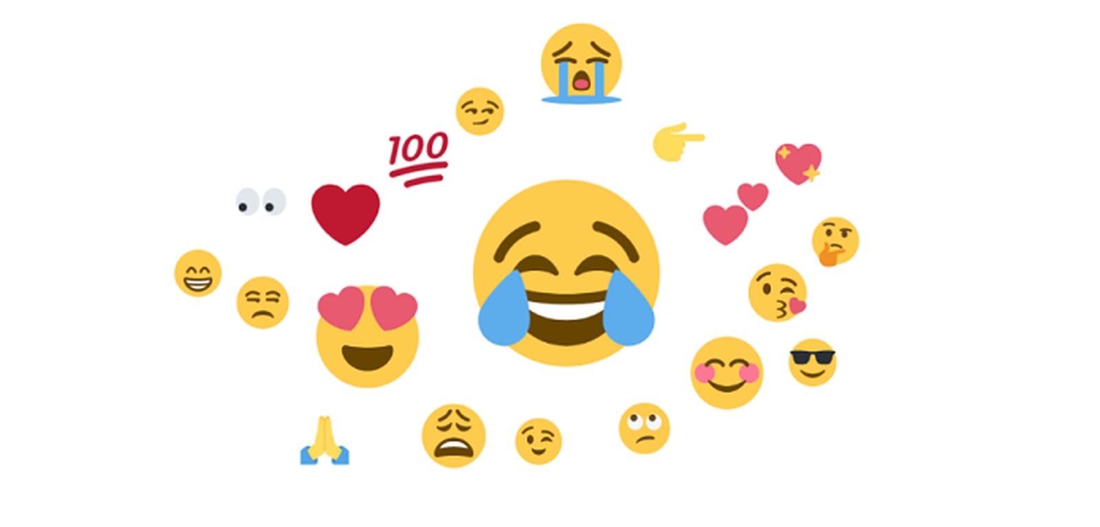 📷 Os 20 emojis com maior frequência no Twitter, de acordo com o estudo | Brandwatch