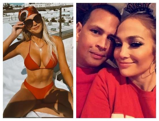 A modelo e influencer Madison LeCroy é apontada como pivô do término do noivado de Alex Rodriguez e Jennifer Lopez (Foto: Instagram)