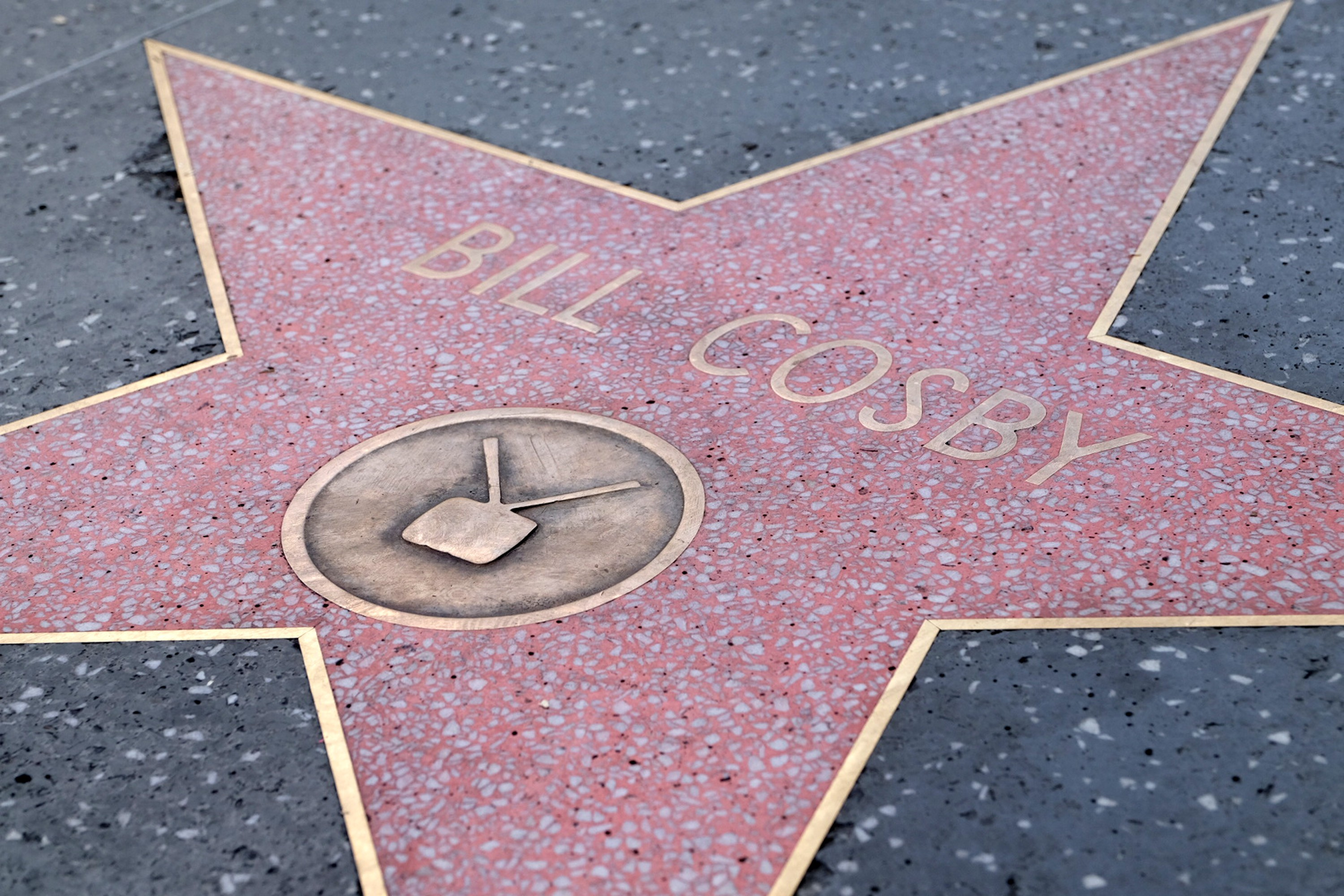 A estrela do ator Bill Cosby na Calçada da Fama de Hollywood (Foto: Getty Images)