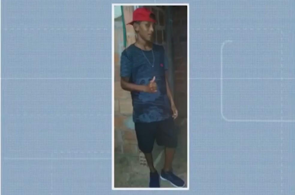 Morte de Denilson, 15 anos, ocorreu na tarde de quinta — Foto: Reprodução/TV Bahia