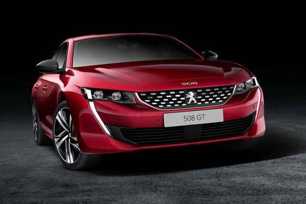 Parte frontal do Peugeot 508 foi inspirada também no conceito autonômo Instinct (Foto:  Divulgação)