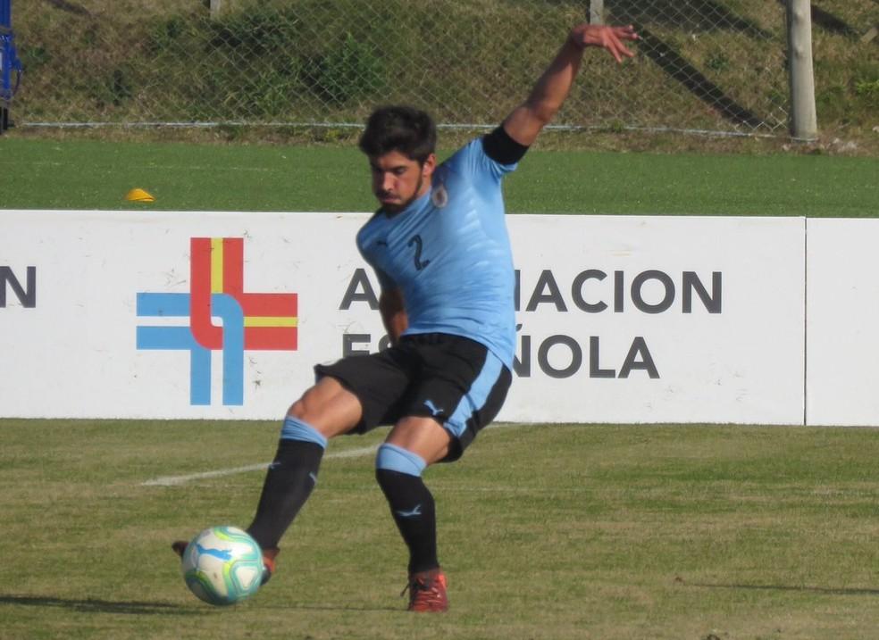 Bruno Méndez é zagueiro, mas também pode atuar como lateral-direito — Foto: Reprodução/Twitter