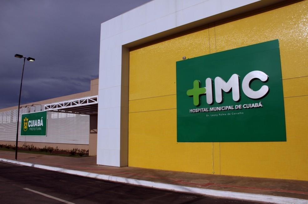 Hospital Municipal de Cuiabá (HMC) Dr. Leony Palma de Carvalho,  — Foto: Vicente Aquino