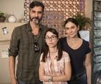 Luciano Pontes, Daphne Bozaski e Aline Fanju | Victor Pollak/TV Globo