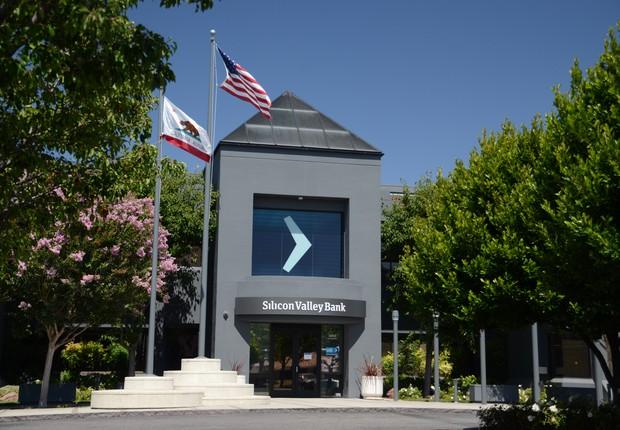 Sede do Silicon Valley Bank em Santa Clara, nos Estados Unidos (Foto: Divulgação)