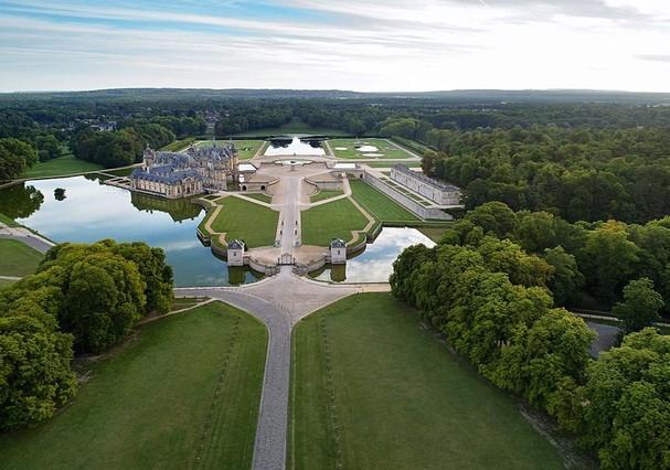 Castelo de Chantilly (Foto: Instagram/Reprodução)