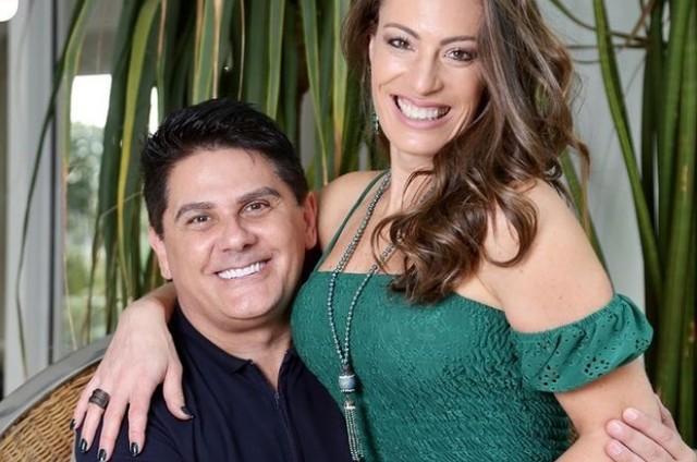 César Filho e Elaine Mickeli (Foto: Reprodução)