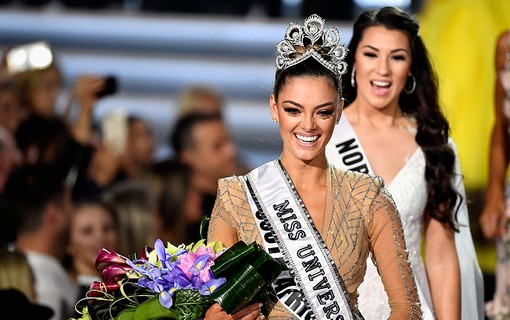 Demi-Leigh Nel-Peters, miss sul-africana, vencedora do Miss Universo 2017