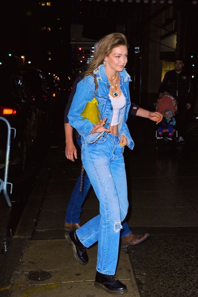 NEW YORK, NY - APRIL 22:  Gigi Hadid seen out and about in Manhattan on  April 22, 2019 in New York City.  (Photo by Robert Kamau/GC Images) (Foto: GC Images)