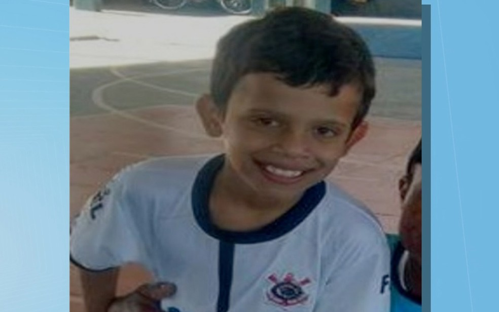 Menino de 10 desapareceu em Nova Andradina, MS (Foto: Reprodução/TV Morena)