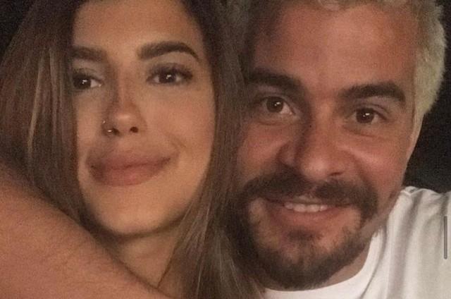 Thiago Martins e a namorada, Talita (Foto: Reprodução)
