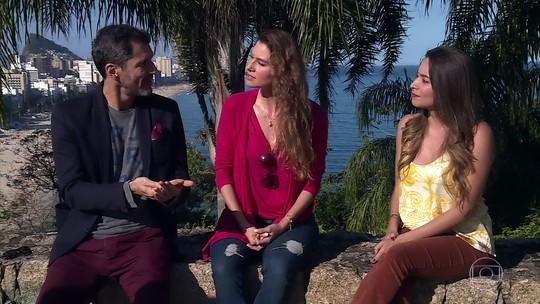 Lavínia Vlasak e Nicola Siri relembram 'Mulheres Apaixonadas' 14 anos depois