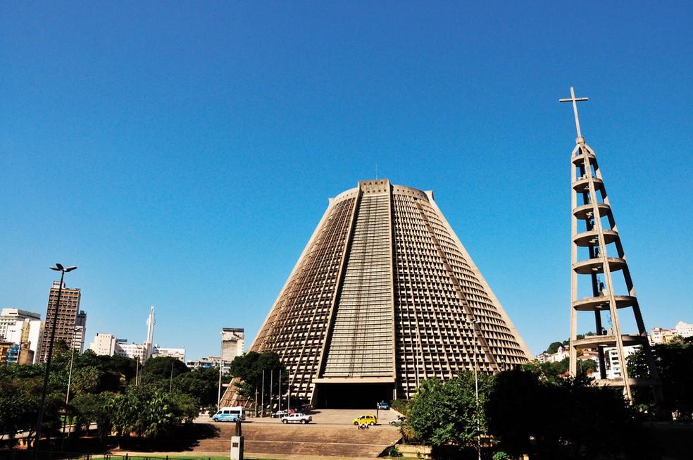 Catedral Metropolitana do Rio de Janeiro — Foto: Alexandre Macieira/ Riotur