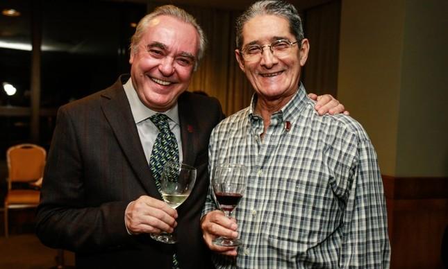 Danio Braga e Celio Alzer: amizade de mais de três décadas