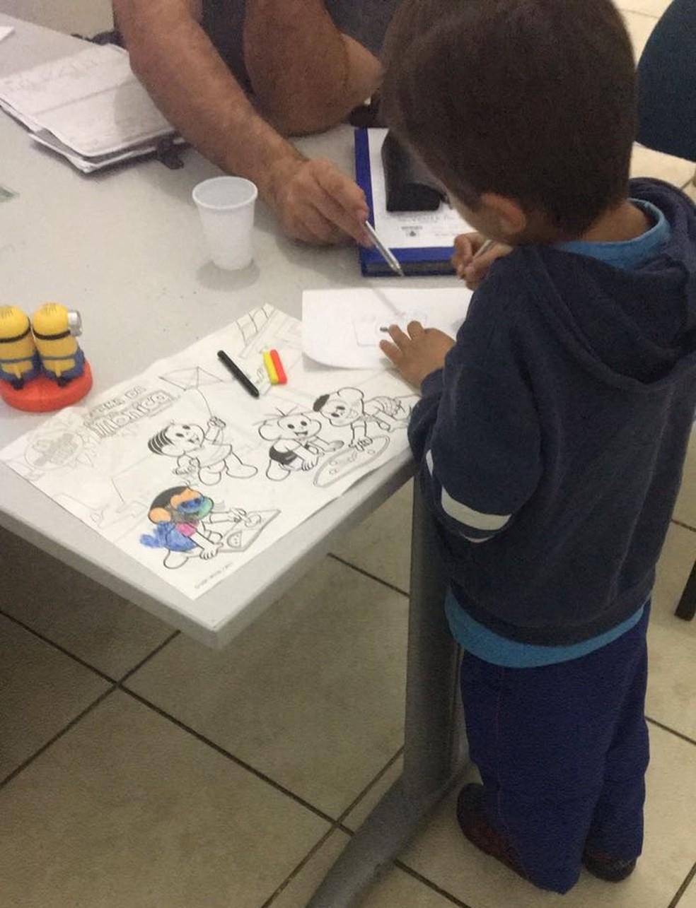 Criança foi para um abrigo do Conselho Tutelar de Sorocaba e será encaminhada para a avó (Foto: Conselho Tutelar de Sorocaba/Divulgação)