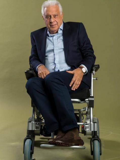 Antonio Fagundes como o Alberto de 'Bom sucesso' (Foto: João Cotta/TV Globo)