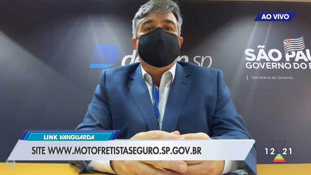 Detran lança programa para motofretistas