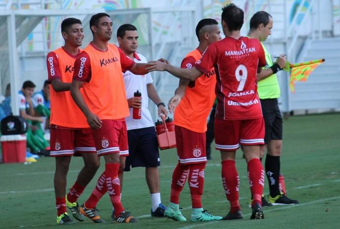América-RN - Luiz Eduardo - Lúcio Curió (Foto: Canindé Pereira/América FC/ Divulgação)