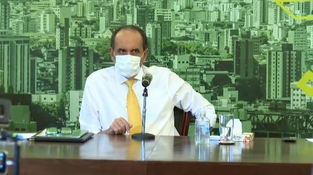 'Não se iludam com boataria', avisa Kalil sobre reabertura do comércio em Belo Horizonte