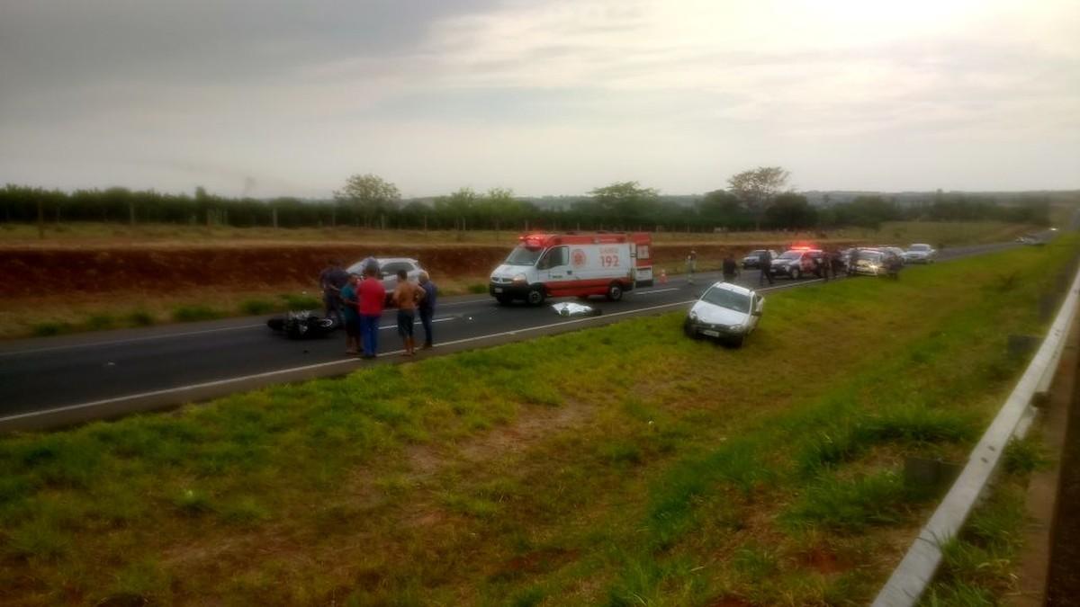 Motociclista morre após ser atingido por carro em rodovia de Santa Salete