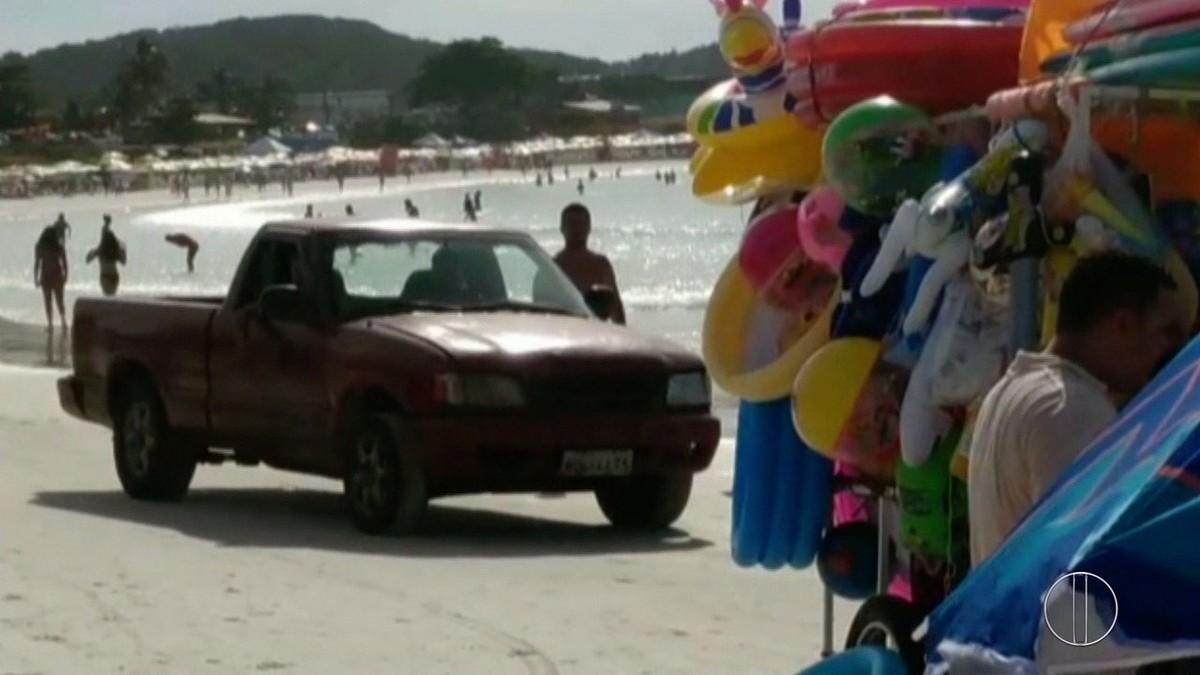 Estacionamento em área proibida está entre as infrações mais comuns na alta temporada em Cabo Frio