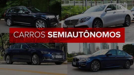 Brasil tem 4 modelos de carros à venda que rodam sozinhos, de forma limitada; veja como é