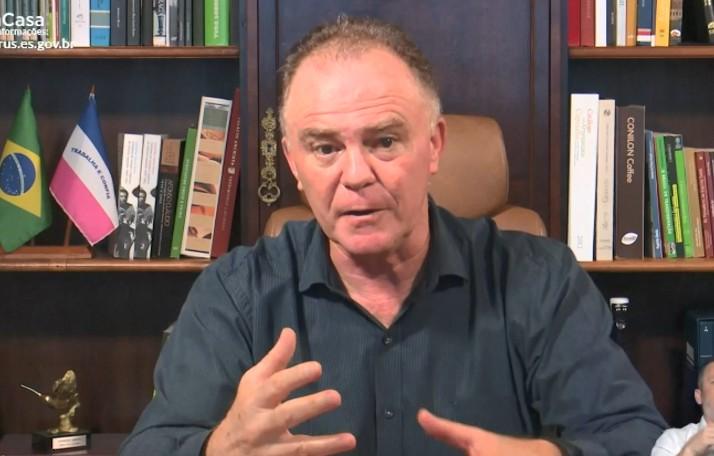 'Não precisamos de milagre, precisamos de atitude', diz governador do ES sobre Covid-19