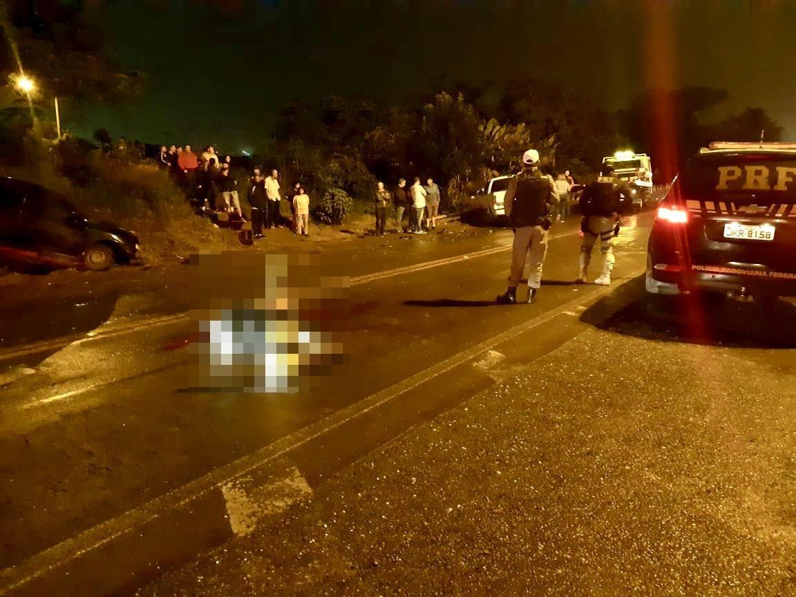 Homem e mulher são mortos a tiros quando caminhavam na BR-386 em Frederico Westphalen - Noticias