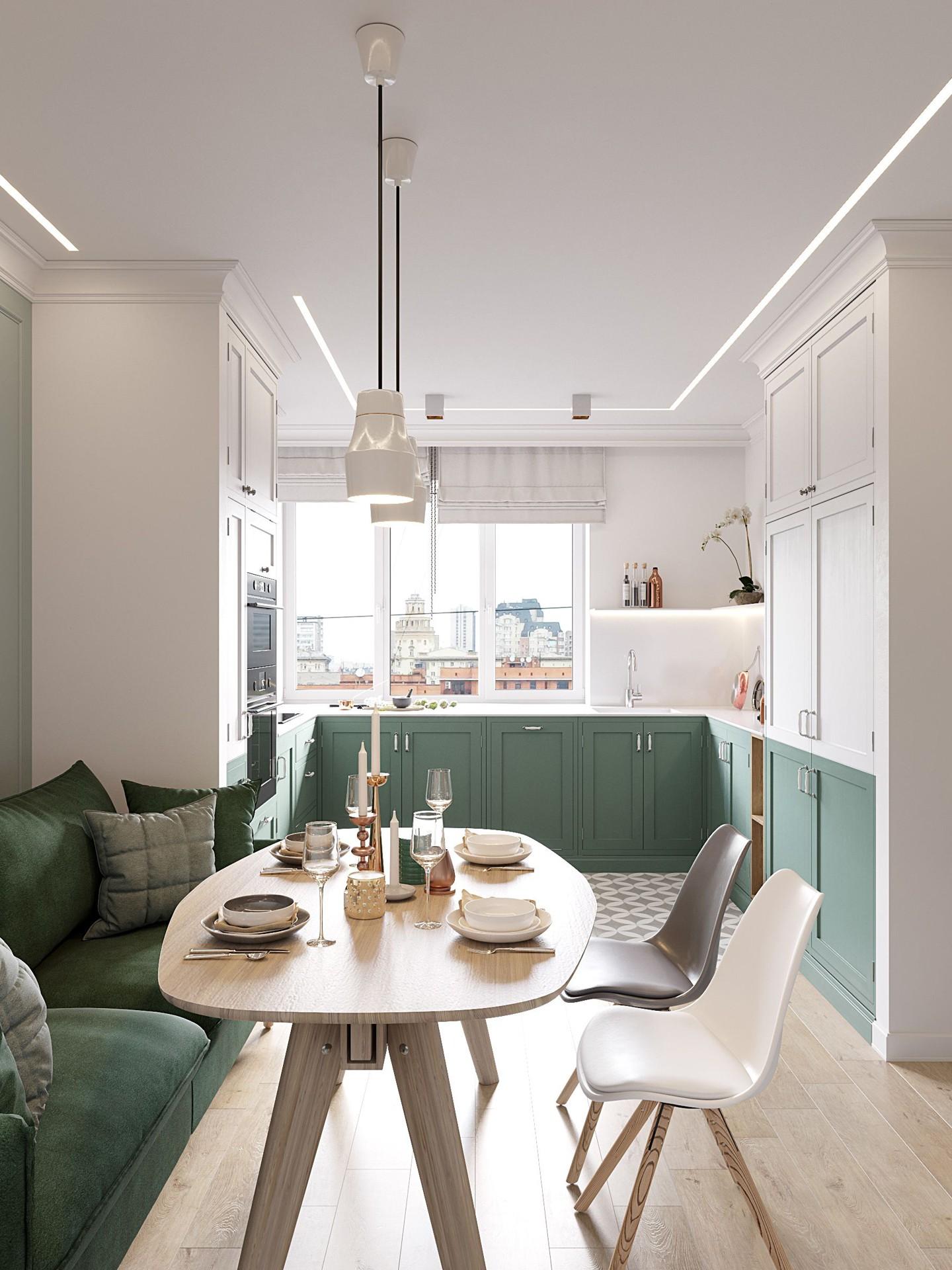 Décor do dia: armários bicolores na cozinha (Foto: Divulgação)