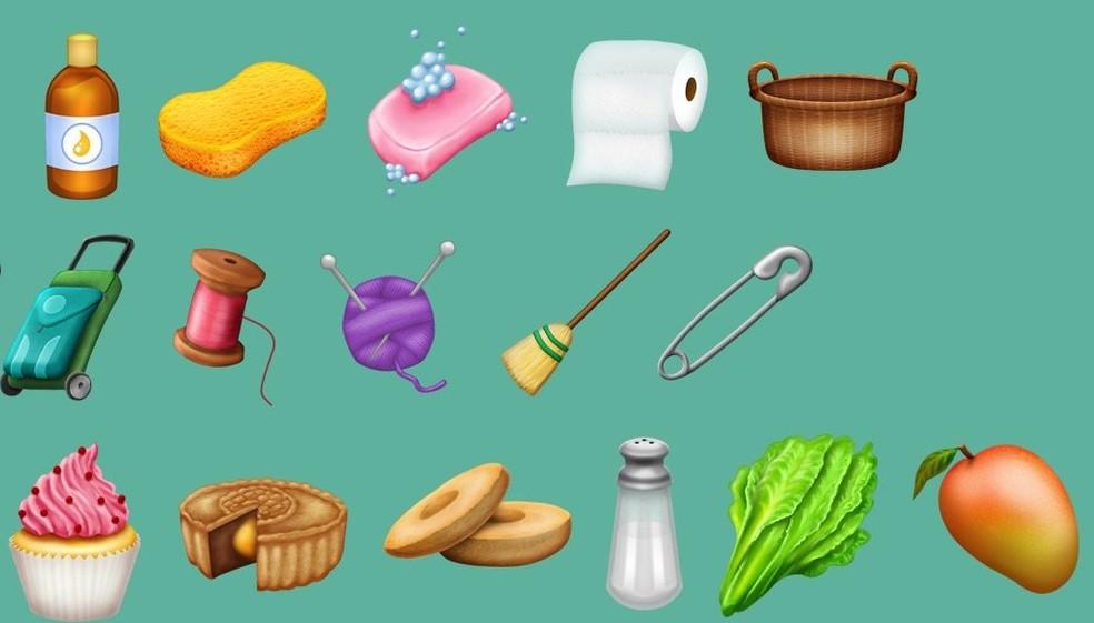 Itens de higiene e limpeza aparecerão como emojis (Foto: Reprodução/Emojipedia)