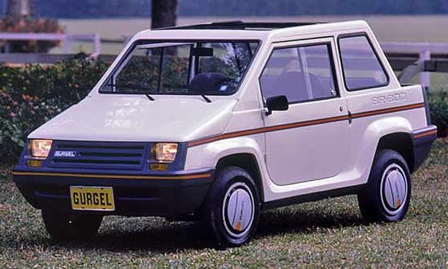 Gurgel BR-800 targa
